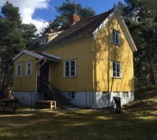 The Yellow House in Järfalla, Stockholm // Courtesy of Inhabitant Zero