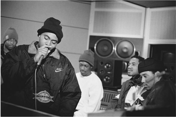 Lisa Leone: 'Nas' Illmatic session, 1993 // Copyright Lisa Leone
