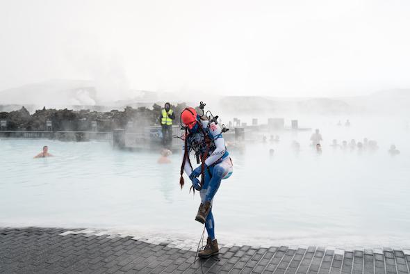 Johannes Paul Raether: 'Protekto.x.x Absurd Alloy (5.5.5.4)', 2016 // Photo by Hörður Sveinsson, Courtesy of Cycle Music and Art Festival, Kópavogur, Iceland.