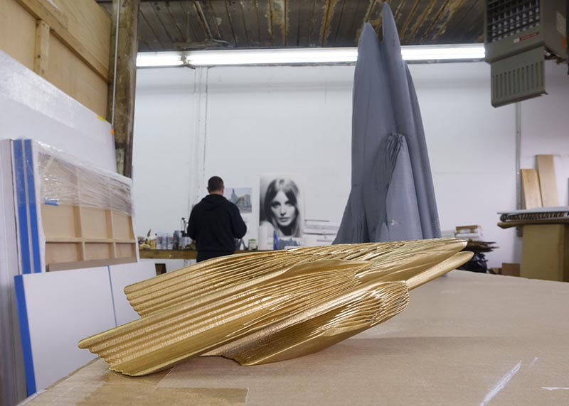 Berlin Art Link Studio Visit with Robert Lazzarini
