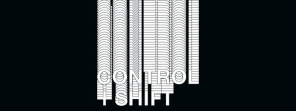 Control + Shift Logo, 2016 // Graphic design by Benedek Takács
