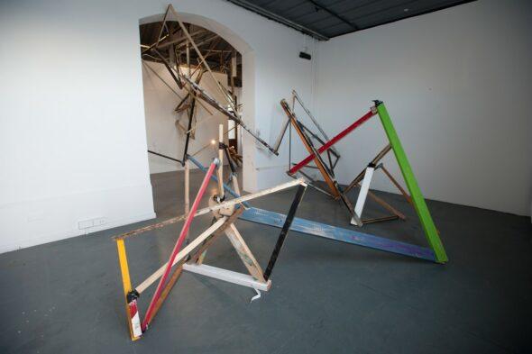 David Watkins: 'Interplanetary Trajectory', 2014 // Courtesy of the Artist and Joanna Bryant & Julian Page