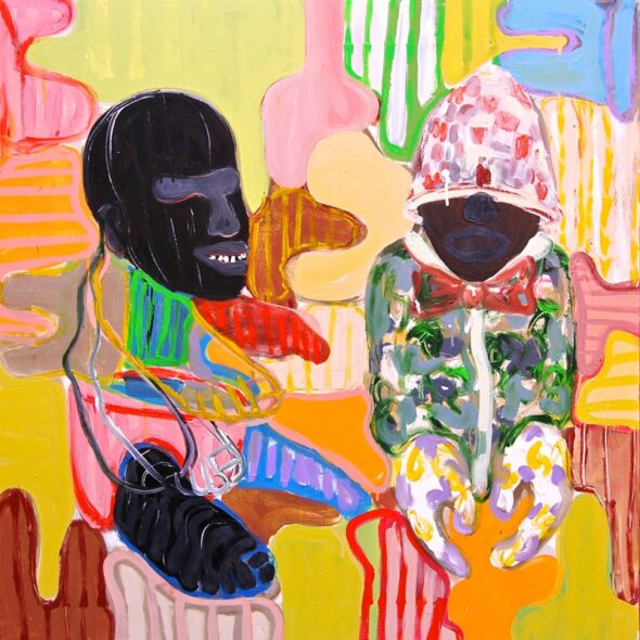 Gresham Tapiwa Nyaude: 'Wrong Conversation Part 3', 2016 // Courtesy of the Artist and First Floor Gallery Harare