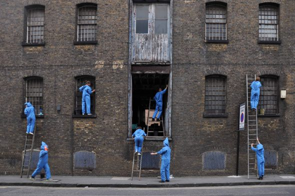 Guerilla Architects: 'City-making through minimally invasive interventions,' selected as part of the 2016 programme // Image courtesy of the artists and Future Architects