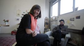 Berlin Art Link Studio Visit with Pierwoss & Siska