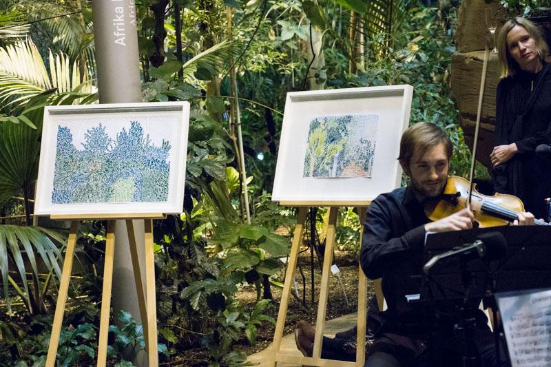 Berlin Art Link Discover Flavio de Marco at the Botanische Garten Berlin