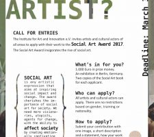 Berlin Art Link Social Art Award 2017