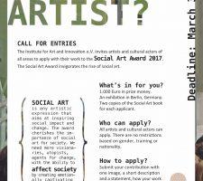 Berlin Art Link Social Art Award 2017