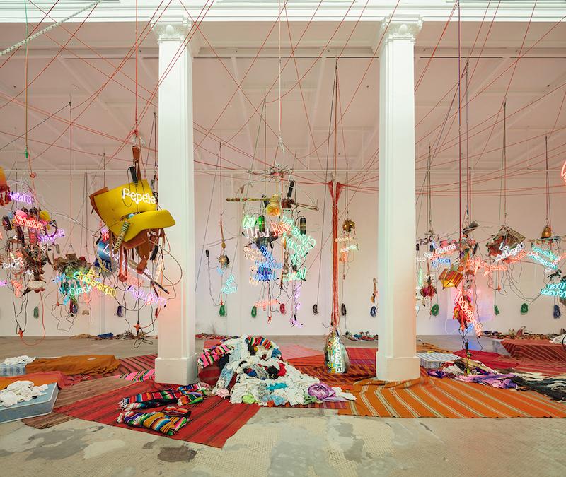 Berlin Art Link Discover Jason Rhoades at Hauser Wirth & Schimmel Los Angeles