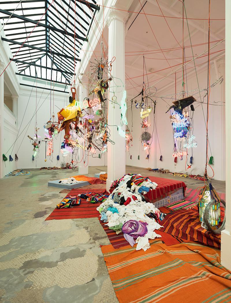 Exhibition // Jason Rhoades at Hauser Wirth & Schimmel