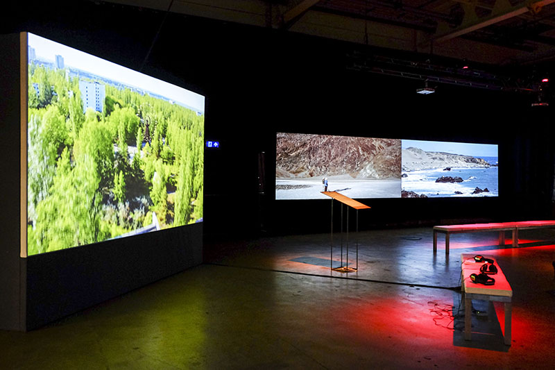 Raúl Ortega Ayala: 'The Zone', 2017 presented by Dürst Britt & Mayhew and Nicolas Provost: 'Exodus', 2015-2017 presented by Gimm