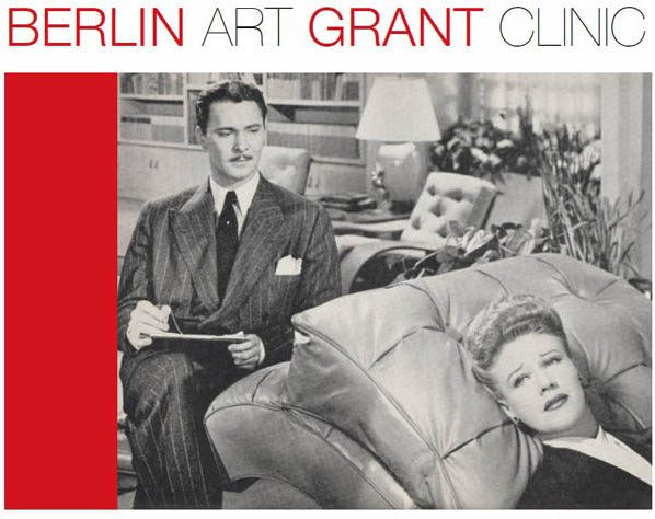 Berlin Art Grant Clinic Writing Seminar and Workshop