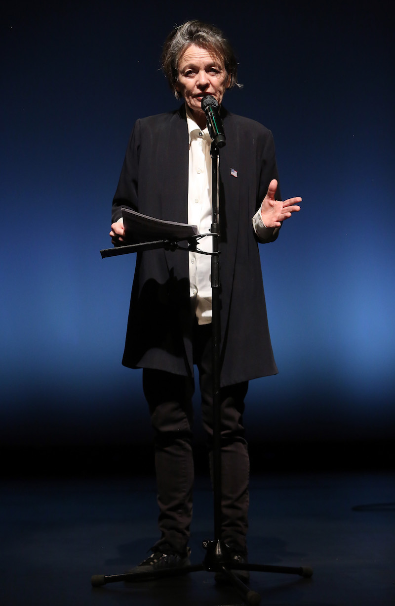 Laurie Anderson: 'The Language Of The Future', 2017 // Photo by Adam Berry