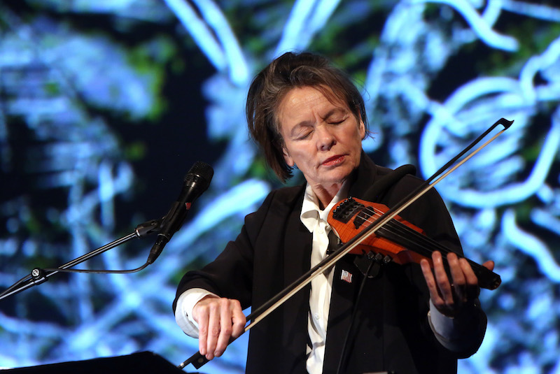 Laurie Anderson, 2017 // Photo by Adam Berry