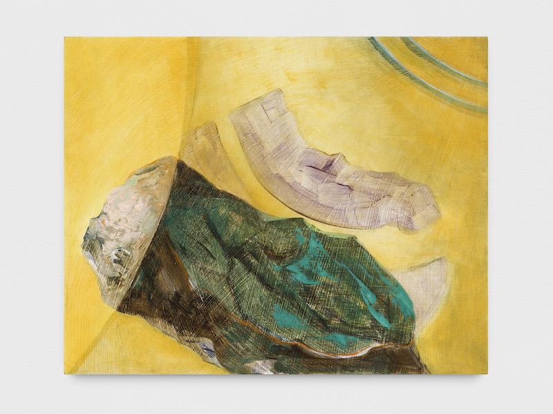 Iulia Nistor,'Evidence E7 W6 A3', 2016, oil on wood, 40 x 50 cm, photograph by Trevor Good, courtesy the artist and Plan B Cluj, Berlin
