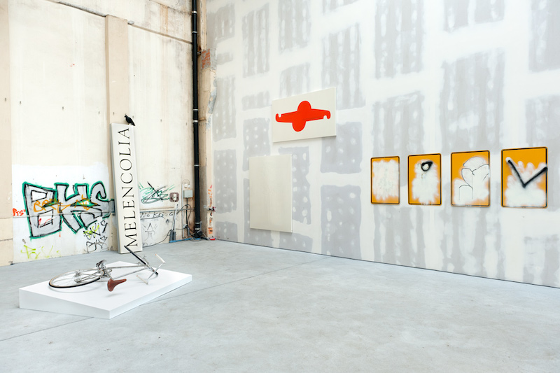 Assorted works from 'IF THIS THEN THAT(2)', LAGE EGAL at Reinbeckhallen. Photo credit Paula G. Vidal.