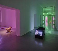 Berlin Art Link, Viron Erol Vert, Exhibition view, Kunstraum Kreuzberg / Bethanien, 2017 // Photo: Eric Tschernow