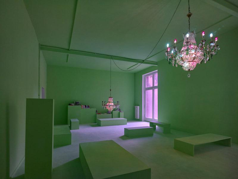 Berlin Art Link, Viron Erol Vert, 'Porphyra Club,' 2017, Kunstraum Kreuzberg / Bethanien // Photo: Eric Tschernow
