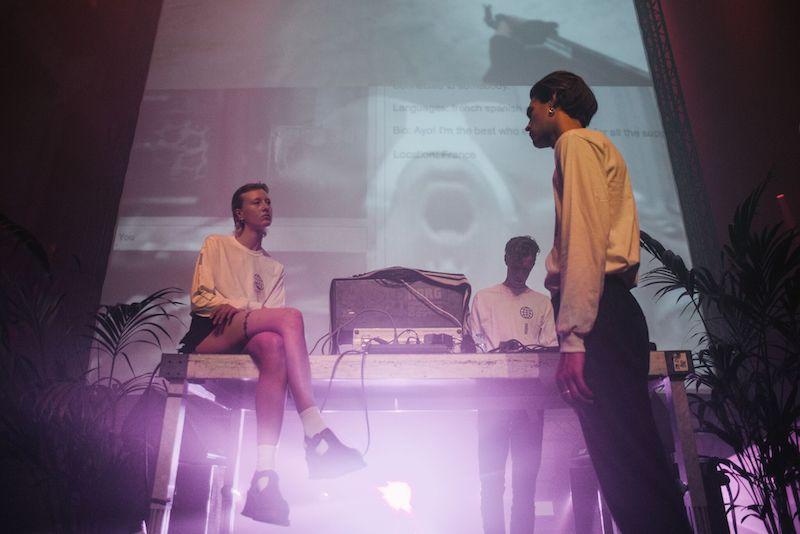 Berlin Atonal, 2016, Performance documentation // © Helge Mundt