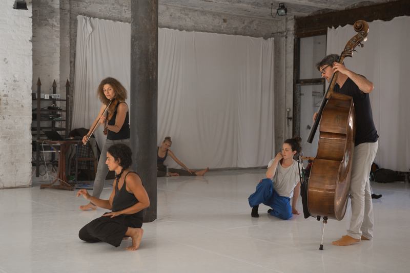 SOUN D ANCE Festival Atelier session with Grapeshade, 2017 // Photo by Michela Filzi