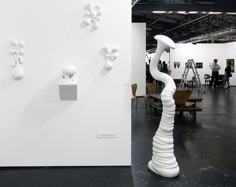 Galerie Robert Drees, Venske and Spanle, Installation view, Laser Marble
