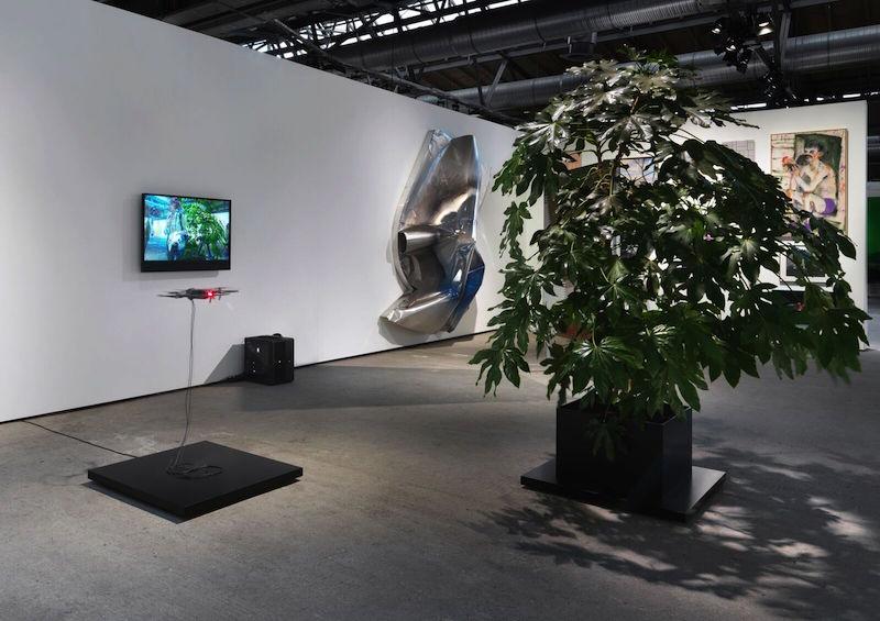 Dittrich & Schlechtriem, Art Berlin 2017, Installation view // Photo by Anna Russ