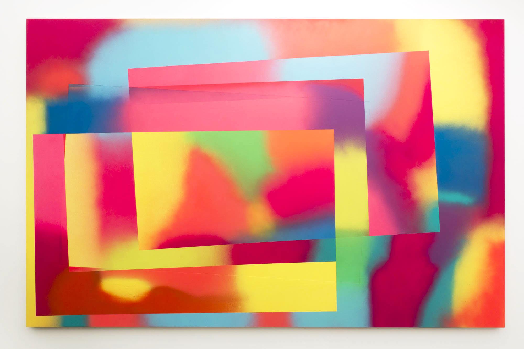 Eddie Peake, Gallerie Lorcan O'Neill, installation view, Frieze London 2017