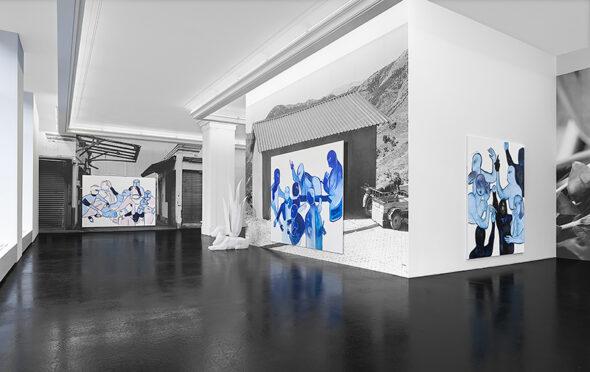 Melike Kara: 'Köpek', installation view // Courtesy Peres Projects, Berlin; Photographer: Matthias Kolb