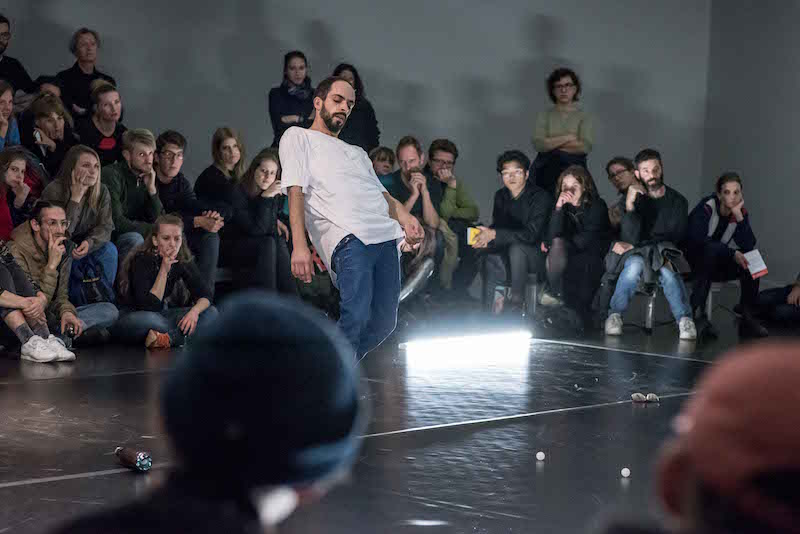 Csaba Molnár: 'Watch Me Happening, 2017 // Photo by Barbara Antal