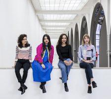 Jumana Manna, Sol Calero, Iman Issa, Agnieszka Polska (from left to right) // Photo credit David von Becker