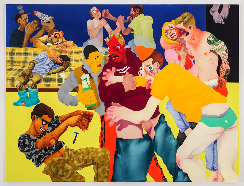 Canyon Castator: 'Boys Will Be Boys', 2017 // Courtesy of the artist and Postmasters Gallery, New York
