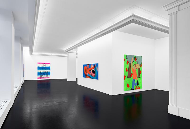 Austin Lee: 'Tomato Can' (installation view), 2018 // Courtesy Peres Projects, Berlin; Photo: Matthias Kolb
