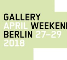 Berlin Art Link Gallery Weekend annoucement