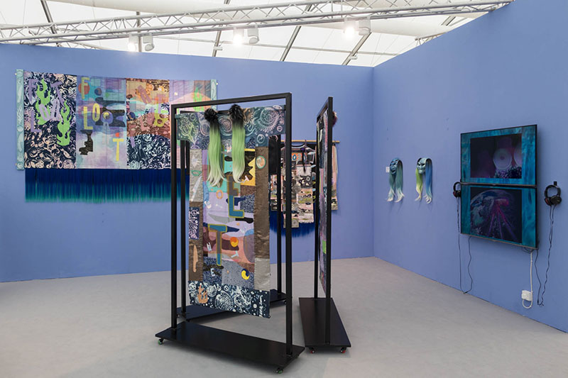 Berlin Art Link Images from Frieze Art Fair London 2018