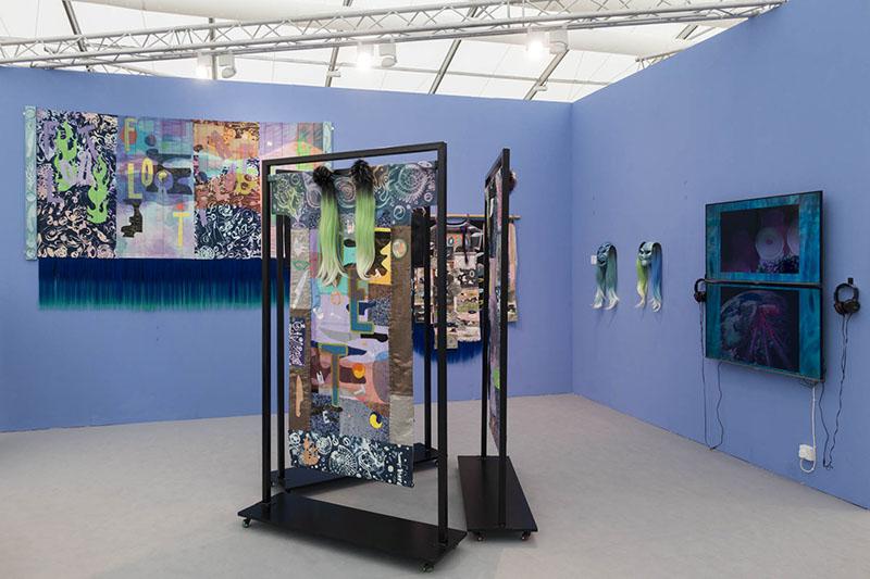 Berlin Art Link Images from Frieze Art Fair London 2018
