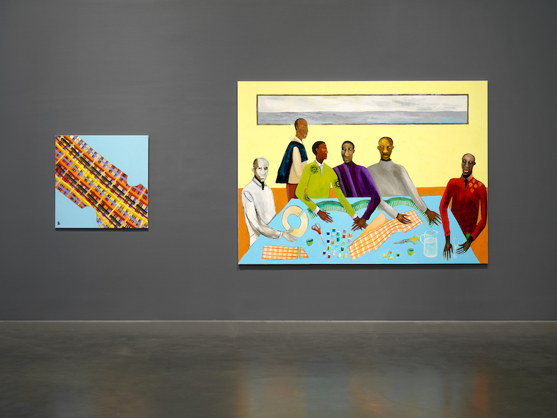 berlinartlink review Lubaina Himid