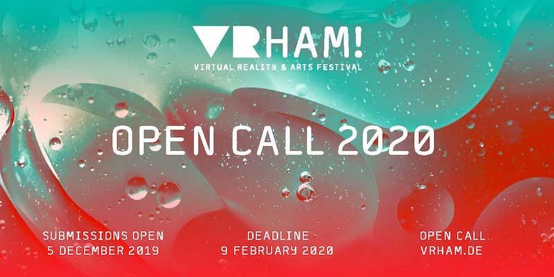 VRHAM! Open Call 2020