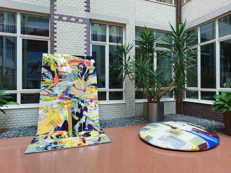 Berlin Art Link article about Claudia Chaseling exhibition at Australian Embassy
