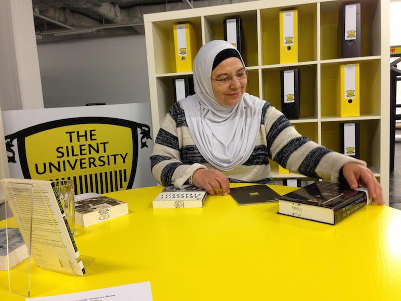 berlinartlink institutional critique silent university