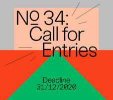 colorful graphic design and open call for entries poster