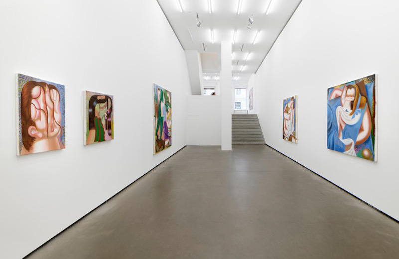 We can see the artworks of Kristina Schuldt exhibited at Galerie Eigene+Art