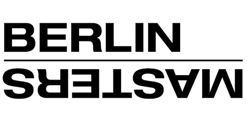 A black and white image reading 'Berlin Masters'.