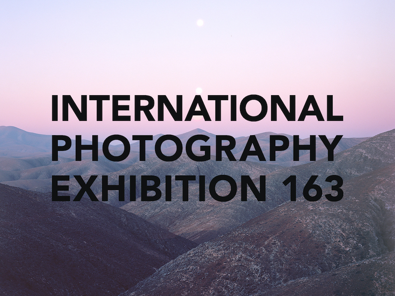 "Reads ""International Photography Exhibition 163"""