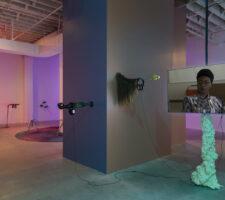 An installation view of the Bemis Center for Contemporary Art